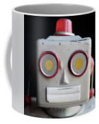 Vintage Robot Square Coffee Mug