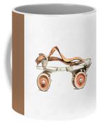 Vintage Roller Skate Painting Coffee Mug