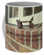 Vintage Roller Skate Quote Coffee Mug
