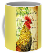 Vintage Rooster Portrait    Coffee Mug