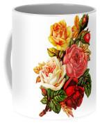 Vintage Rose I Coffee Mug by Kim Kent