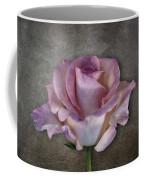 Vintage Rose On Gray Coffee Mug