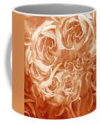 Vintage Rose Petals Abstract  Coffee Mug