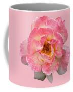 Vintage Rose Square Coffee Mug