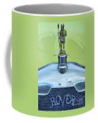 Collectible Vintage Rover Hood Ornament Coffee Mug