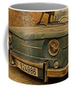 Vintage Rusty Renault Truck Coffee Mug