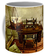 Vintage Singer Sewing Machine Coffee Mug