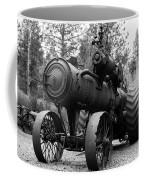 Vintage Steam Tractor Coffee Mug