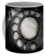 Vintage Telephone Coffee Mug