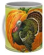 Vintage Thanksgiving Card Coffee Mug