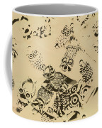 Vintage Toned Owls Coffee Mug