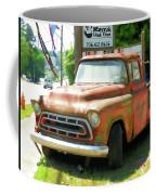 Vintage Tow Truck Coffee Mug