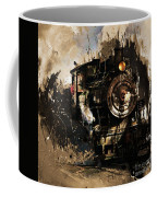 Vintage Train 06 Coffee Mug