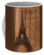 Vintage Travel Paris Coffee Mug