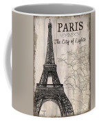 Vintage Travel Poster Paris Coffee Mug