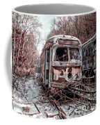 Vintage Trolley Streetcars Coffee Mug