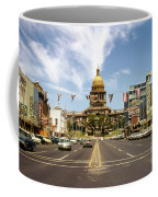 Vintage View Of The Texas State Capitol And Downtown Austin From September 1968 Coffee Mug