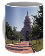Vintage View Of The Texas State Capitol In Downtown Austin, Texas Coffee Mug