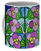 Vintage Violets Coffee Mug