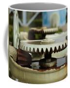 Vintage Water Pump With Gears Coffee Mug