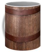 Vintage Wine Barrel Coffee Mug