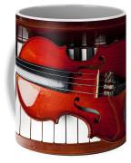 Viola On Piano Keys Coffee Mug