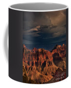 Violent Storm Over The North Rim Grand Canyon National Park Arizona Coffee Mug