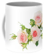 Garden Roses And Buds Coffee Mug