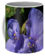 Violet Blooms Coffee Mug