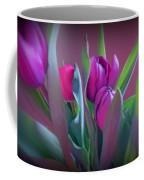 Violet Colored Tulips Coffee Mug