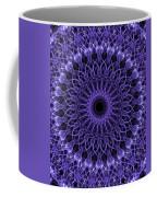 Violet Digital Mandala Coffee Mug