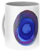 Violet Drops 1- Art By Linda Woods Coffee Mug