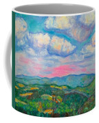 Violet Evening On Rocky Knob Coffee Mug