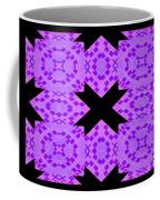 Violet Haze Abstract Coffee Mug