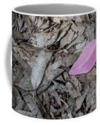 Violet Leaf On The Ground  Coffee Mug