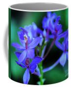 Violet Orchids Coffee Mug