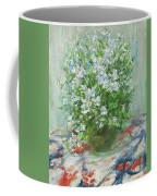 Violet Orychophragmus Coffee Mug