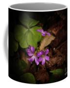 Violet Wood Sorrel Coffee Mug
