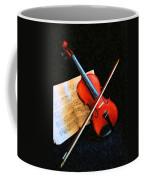 Violin Impression Coffee Mug