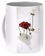 Violin In Silhouette Coffee Mug