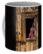 Violin In Window Coffee Mug