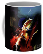 Violin Painting Art 321 Coffee Mug