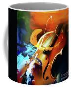 Violin Painting Art 51 Coffee Mug