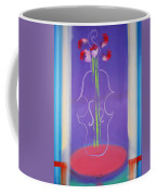 Violin Vase Coffee Mug