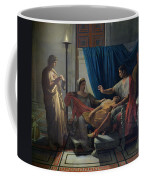 Virgil Reading The Aeneid Coffee Mug