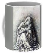 Virgin And Child Madonna Of Humility 1490 Coffee Mug