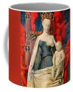 Virgin And Child Surrounded By Angels Coffee Mug