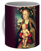 Virgin And Child Under An Apple Tree Coffee Mug