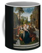 Virgin And Child With Angels Coffee Mug