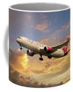 Virgin Atlantic Boeing 787 Dreamliner Coffee Mug